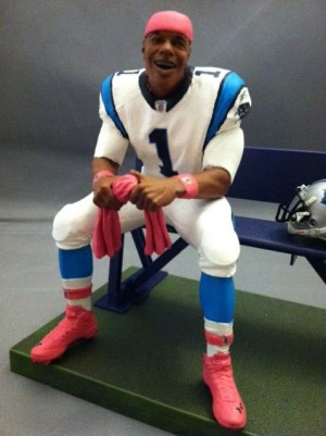 How Much Does Cam Newton Bench Carolina Panthers