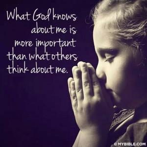 God knows.