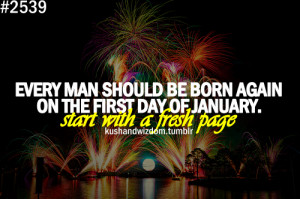 Happy New Year 2013 wish and being born again on 1st January, greeting ...
