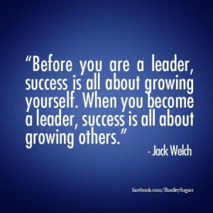 jack welch - leader