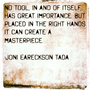 importance :: joni eareckson tada