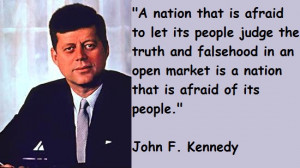 famous jfk quotes,A List of Famous John F. Kennedy Quotes, most famous ...