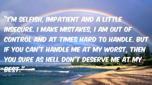 Selfish Impatient And...