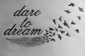 black and white, draw, drawing, dream, dreams, life, quote, quotes