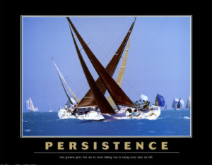 Motivational Persistence Art - AllPosters.co.uk