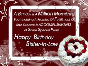 Happy Birthday Loving Sister-in-law