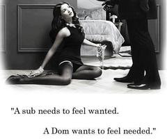 Dominant And Submissive Quotes