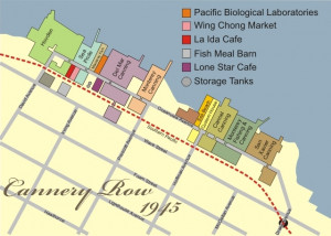 cannery row map steinbeck