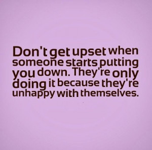 Only Doing Because They Unhappy With Themselves Life Quotes