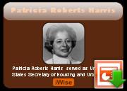 Patricia Roberts Harris quotes