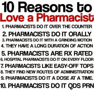 Pharmacist Sayings