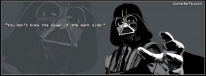 Darth Vader Quote Facebook Cover