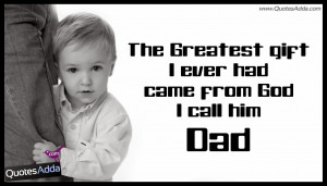 Dad Quotes From Son. Best Father And Son Quotes. View Original ...