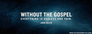 John Calvin Facebook Cover Photos