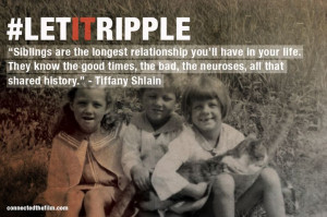 Quotes About Sibling Relationships siblings are the longest
