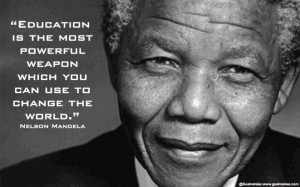 Nelson Mandela on Education...
