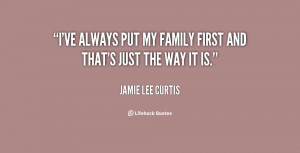 Family First Quotes Preview quote