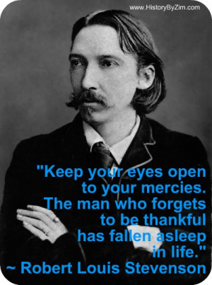 In Their Words – Robert Louis Stevenson