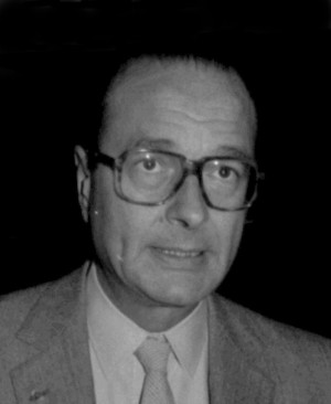 Jacques Chirac, fully Jacques René Chirac