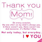 ... of mother s day card with the right sentiments for your mom