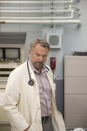 Still of Sam Neill in Escape Plan (2013)
