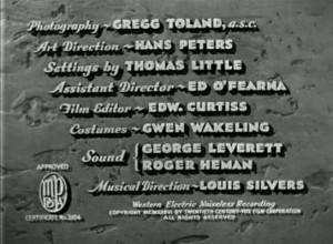 Howard Hawks - The Road to Glory (1936)
