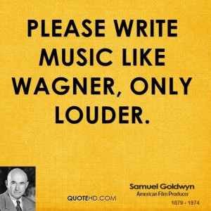 Favorite Samuel Goldwyn Quotes list
