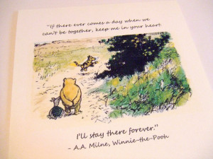 Classic Winnie The Pooh And Piglet Quote Winnie the pooh quote