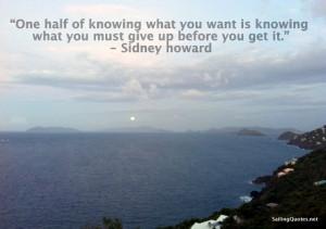 ocean photo, islands, inspirational quote
