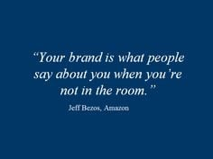 personal brand More