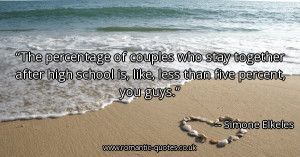 the-percentage-of-couples-who-stay-together-after-high-school-is-like ...