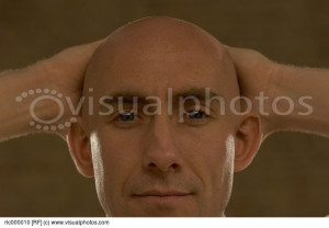 Bald Man Portrait Royalty Free Stock Photos Image
