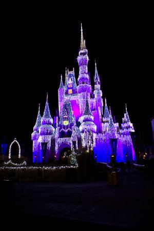 MK Cinderella Castle Xmas 20 by AreteStock