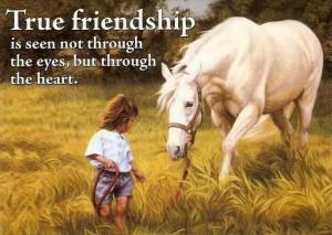 True friendship.