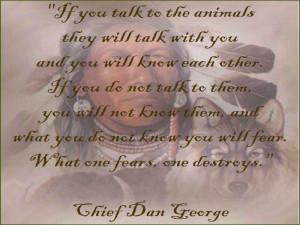 Wolves Chief Dan George