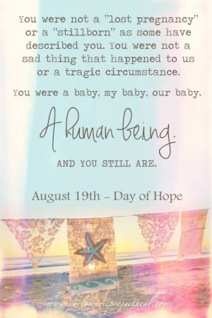 Stillborn Baby Quotes
