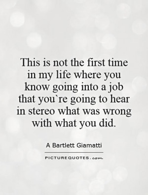 Job Quotes A Bartlett Giamatti Quotes