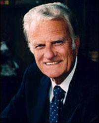 comforting quote from Billy Graham: God will provide us with ...