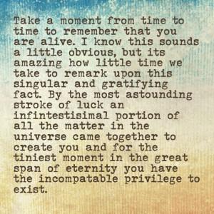 Bill Bryson: You R Alive, Bryson Remember, Quotes Inspiration, The ...