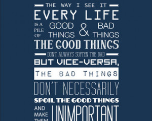 Doctor Who Inspirational Quote Typography Print #3