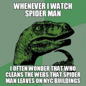 Who Cleans Up After Spider Man?