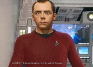Scotty in Star Trek: The Video Game (2013)