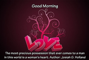 good morning love famous quotes
