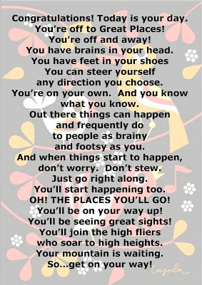 Oh The Places Youll Go Quotes. QuotesGram