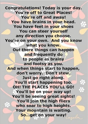 ... quote for dr suess book oh the places you ll go says just that