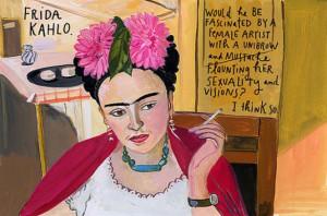 La artista mexicana, Frida Kahlo.