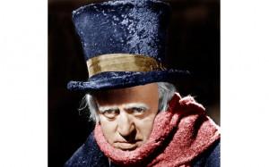 Alastair Sim as Scrooge in the 1951 film of A Christmas Carol