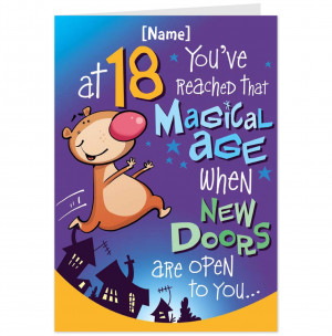 funny+18th+birthday+wishes+(1) Funny 18th birthday wishes, Birthday ...