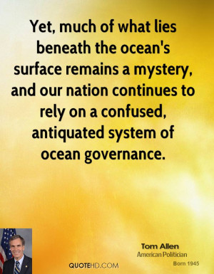 Yet, much of what lies beneath the ocean's surface remains a mystery ...