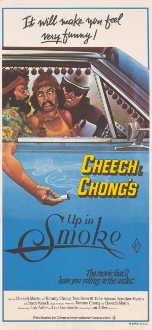Cheech and Chong's Up in Smoke Australian Style A 11 x 17 Inches ...